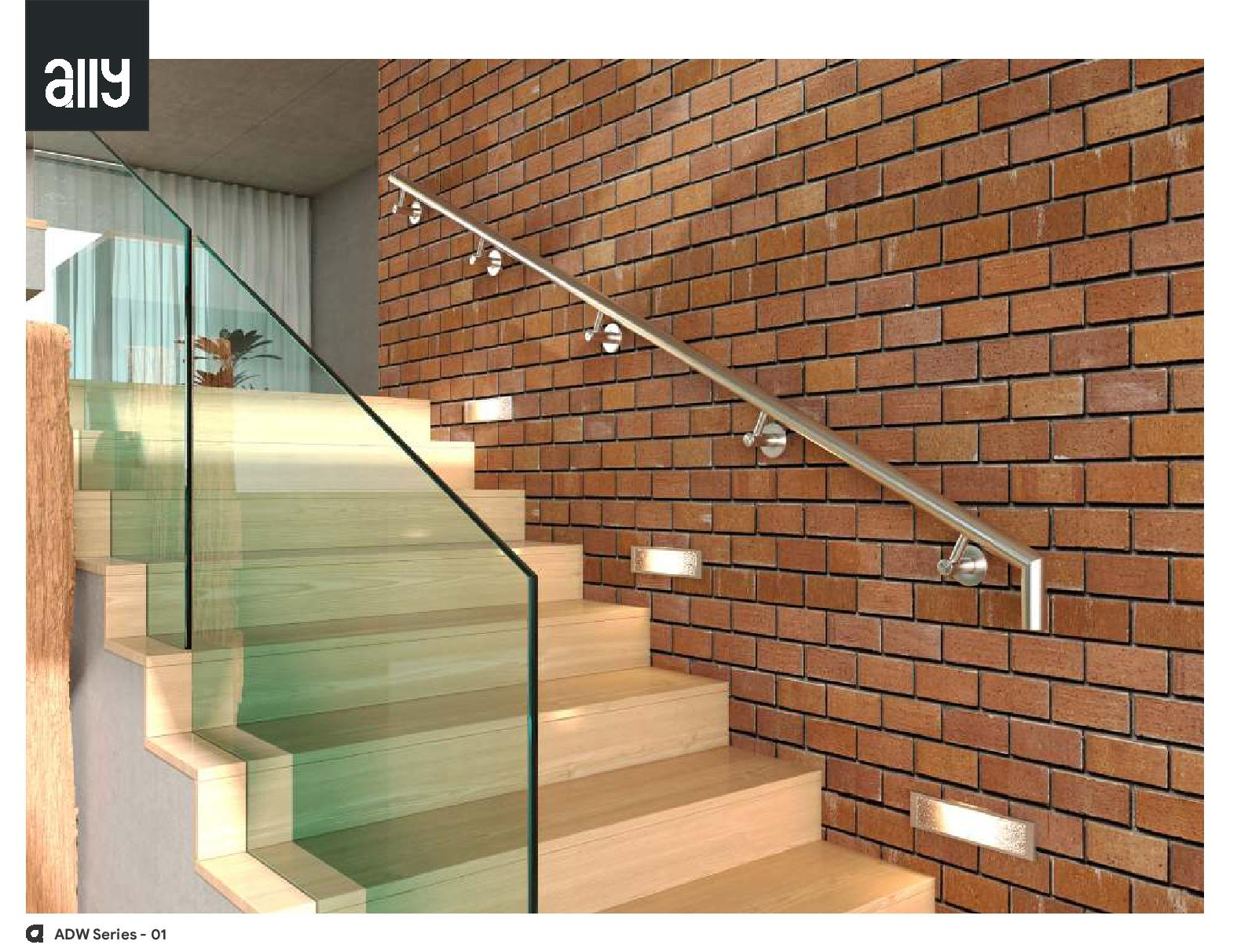 ADW (Wall mounted Railing System)